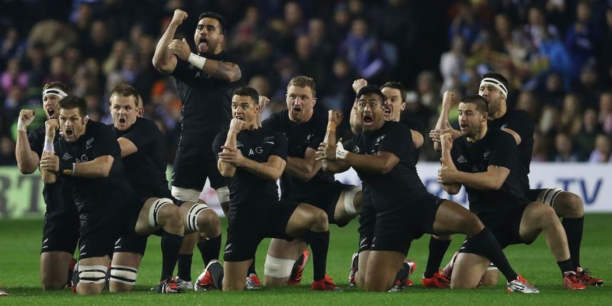 New Zealand All Blacks Danced The Haka Boldfame